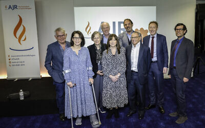 The team behind AJR's Connecting Next Generations conference at Stamford Bridge. (ASL Corporate Photography)