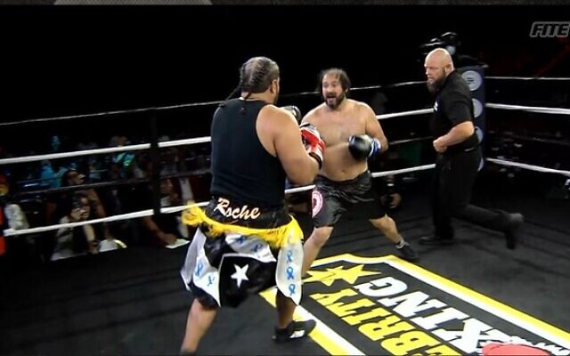 Rabbi Shlomo Zalman in the ring