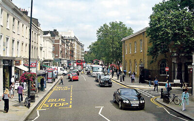 Chelsea's famous King's Road