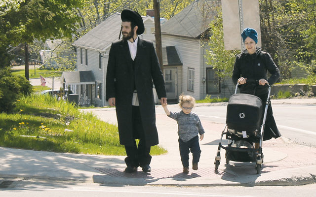 Chaim Friedman, his wife, and their two children moved to Bloomingburg from Williamsburg, Brooklyn.