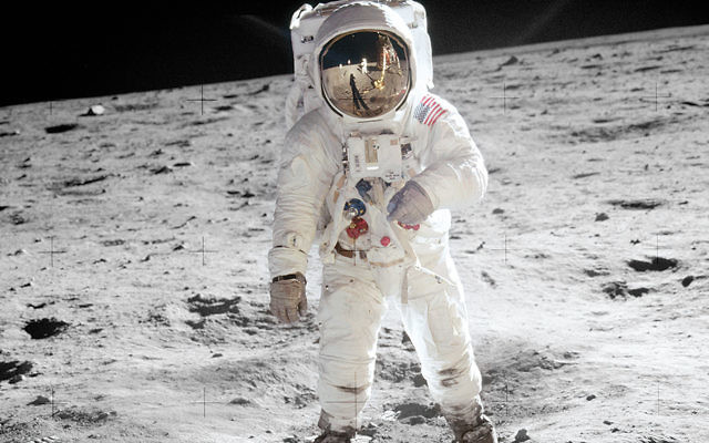 Herman Wouk wrote a postcard to his son about Neil Armstrong's first steps on the moon.