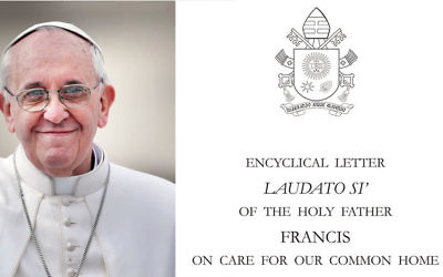 Pope Francis and the encyclical is a turning point in efforts to preserve the environment.