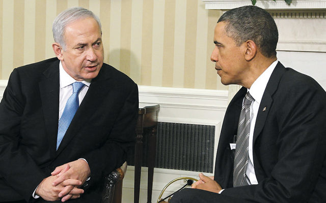 Israeli Prime Minister Benjamin Netanyahu meets with President Barack Obama in the Oval Office on May 20, 2011.