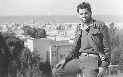 Tom Tugend volunteered to fight in Israel's War of Independence in 1948.