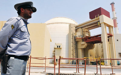 A view of the reactor at the Russian-built Bushehr nuclear power plant in southern Iran as the first fuel is loaded on August 21, 2010. (IIPA via Getty Images)