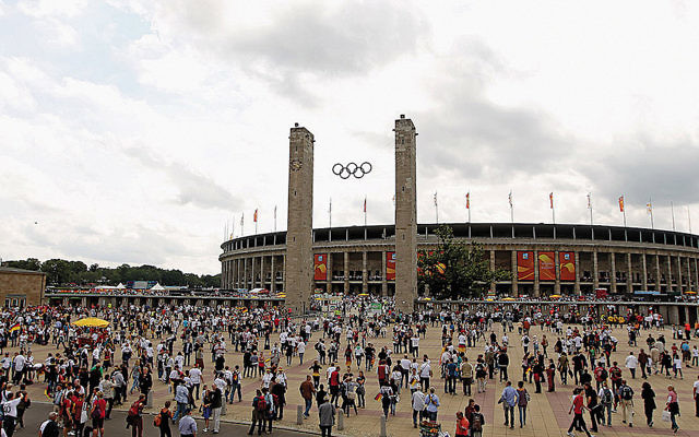 The Berlin Olympiastadion was built for the 1936 Olympic Games. (Scott Heavey/Getty Images)