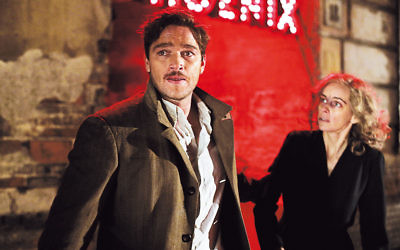Johnny (Ronald Zehrfeld) and Nelly (Nina Hoss) at a fraught moment in Phoenix. (Schramm Film)