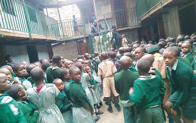 Furuha School in the Huruma slum in Nairobi, Kenya. (P.V. Viswanath)