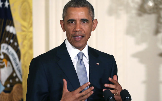 WASHINGTON, DC - JULY 13:  U.S. President Barack Obama speaks during a Conference on Aging in the East Room of the White House July 13, 2015 in Washington, DC. President Obama said a secure retirement is a critical component for the middle class in America.  (Photo by Mark Wilson/Getty Images)