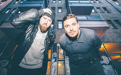 Berlin hip-hop DJs Beathoavenz brought their skills to Tel Aviv's Kuli Alma club. (Courtesy of the artists)