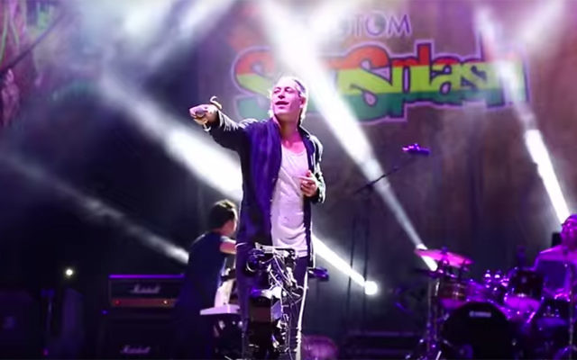 Matisyahu performs at the Rototom Festival in Benicassim, Spain, on August 22. (YouTube)