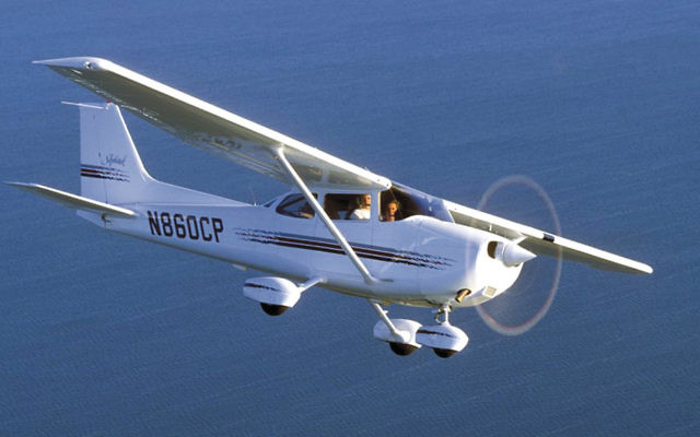 A Cessna aircraft similar to the one piloted by Jack Rosenberg.