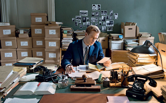 "Alexander Fehling as prosecutor Johann Radmann in ""Labyrinth of Lies."""