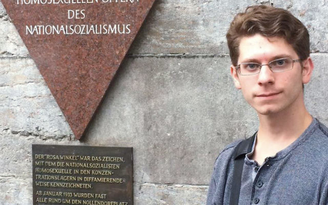 Dan Ackerman toured the sites of some of National Socialism's darkest moments during his studies in Germany.