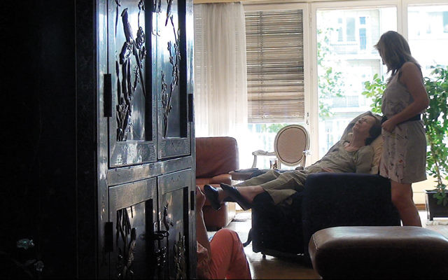 """A still from Chantal Akerman's film about her mother, """"No Home Movie,"""" shown at the New York Film Festival this year."""