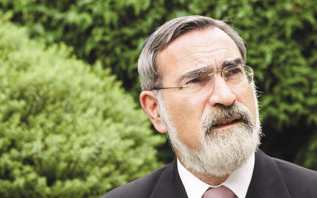 """Rabbi Jonathan Sacks' latest book is """"Not in God's Name: Confronting Religious Violence."""" (United Synagogue)"""