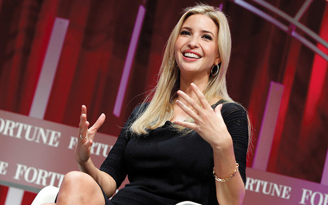 Ivanka Trump speaks at Fortune's Most Powerful Women Summit in Washington, D.C., last week.  (Paul Morigi/Getty Images for Fortune/Time Inc)