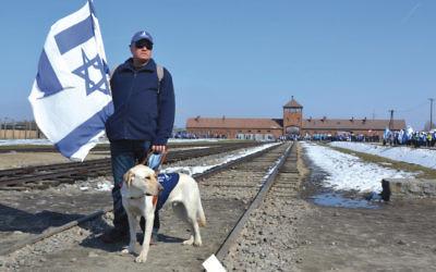 The track to Auschwitz.