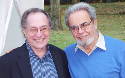 Alan Dershowitz and Dr. Michael Cernea