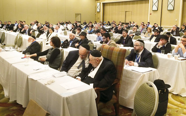 The Rabbinical Council of America held its most recent annual meeting in Tarrytown, N.Y., in July. (RCA)