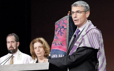 Rabbi Rick Jacobs, the Union for Reform Judaism president, speaking at the movement's biennial conference in Orlando, Fla., Nov. 7, 2015.