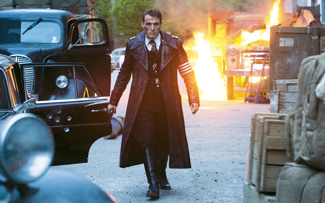 "American Nazi official Obergruppenfürer John Smith (Rufus Sewell) in ""The Man in The High Castle."" (Courtesy of Amazon Studios)"