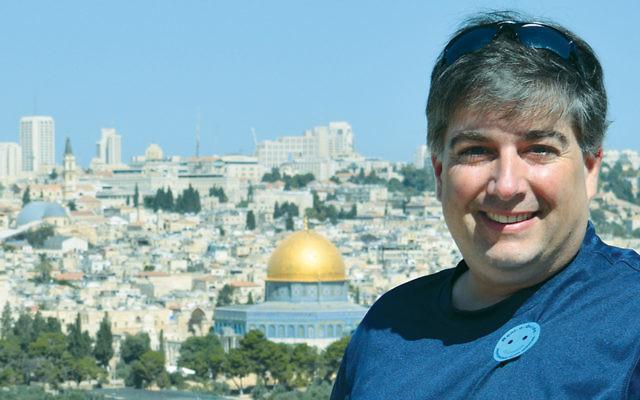 Dr. Nicholas Montello in Jerusalem