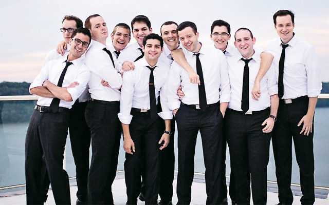 The Maccabeats perform their a capella music nationally, and internationally.