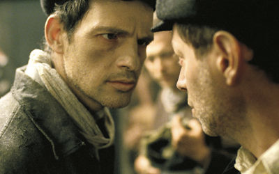 """Geza Rohrig as Saul in """"Son of Saul,"""" written and directed by Laszlo Nemes."""