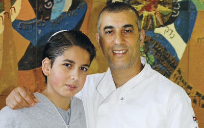 Israeli-born chef  Avi Chamal has headed the Boys Town Jerusalem kitchen for 14 years. (Courtesy Boys Town)