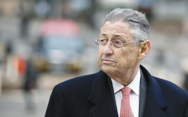 Former New York Assembly Speaker Sheldon Silver arrives at the federal courthouse in Manhattan on November 24. (Seth Wenig/AP Images)