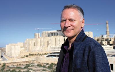 Bashar Masri is the developer behind Rawabi, the first planned Palestinian city. (Yardena Schwartz)