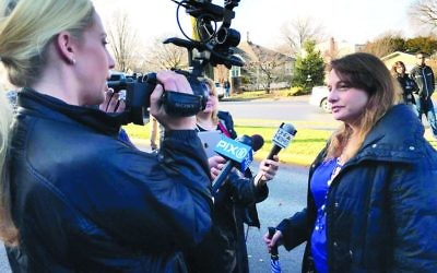 Adi Vaxman is interviewed about the Fair Lawn controversy.