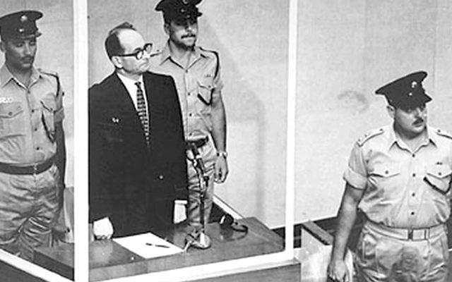 Nazi murderer Adolf Eichmann was executed in Israel in 1962.