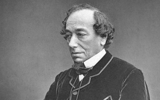 This photograph of Benjamin Disraeli, by W&D Downey, was taken around 1878.