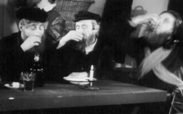 "A still from ""A Vilna Legend."" The 1924 movie had Yiddish sound and English subtitles added in 1933."