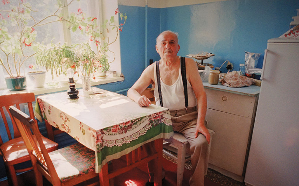 Mikhail Yefinovich Krivosheyev, born in Belarus in 1913, survived as a German prisoner of war