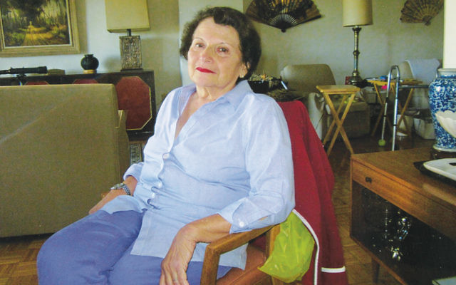 Felice Kirsh of Tenafly on the eve of her second bat mitzvah. Her first was in 1946.