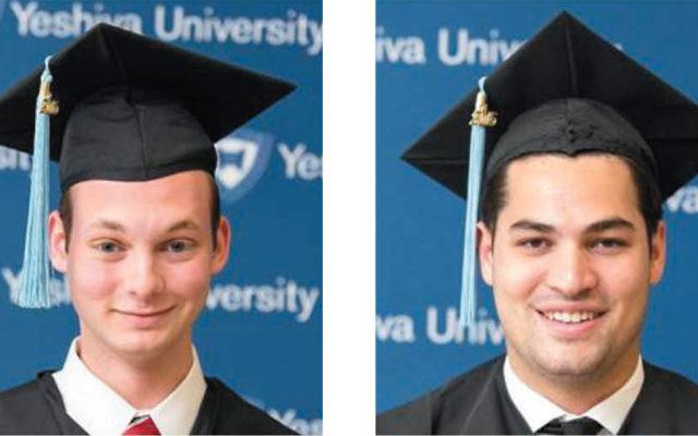 Alex Abraham, left, and Joshua Wildes