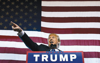 Donald Trump speaks at a rally in Mesa, Ariz., in December. (Ralph Freso/Getty Images)