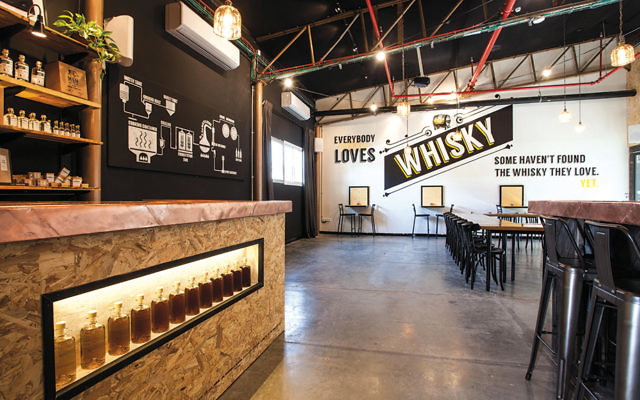 Milk & Honey, a distillery in Jaffa, recently opened a visitor's center that offers tours, tastings, and private events.