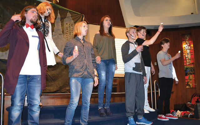 The Israeli visitors performed at Temple Israel on Manhattan's Upper East Side.