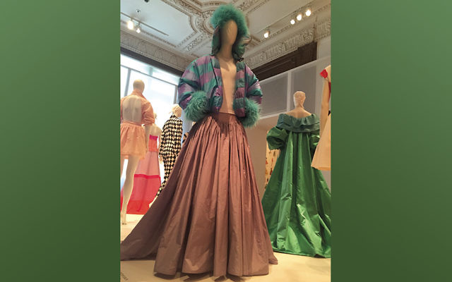 Isaac Mizrahi's work in on view at the Jewish Museum through August 7. (Liz Posner)