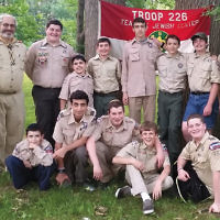 Teaneck's shomer Shabbat Boy Scout Troop 226 held its end-of-year barbecue, Court of Honor awards ceremony, and Webelos Bridging Ceremony. The event was at Phelps Park in Teaneck. For information, email dchazin@aol.com.