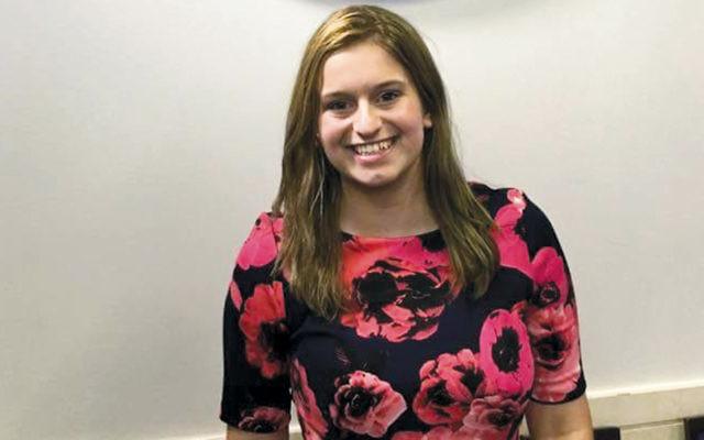 Valerie Weisler received $36,000 as the Diller Teen national award winner.