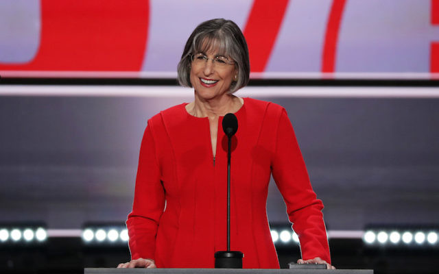 CLEVELAND, OH - JULY 18:  Former Gov. Linda Lingle (R-HI) speaks during the first day of the Republican National Convention on July 18, 2016 at the Quicken Loans Arena in Cleveland, Ohio. An estimated 50,000 people are expected in Cleveland, including hundreds of protesters and members of the media. The four-day Republican National Convention kicks off on July 18. (Photo by Alex Wong/Getty Images)
