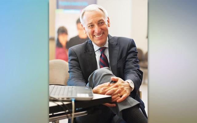 Eric Fingerhut, Hillel's president, relaxes. (Hillel International)
