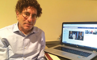 """David Teitelbaum of Fair Lawn works to promote a political dialogue based on facts and """"teachable moments."""""""