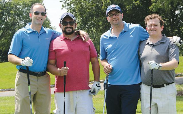 Golfers at last year's Moriah outing. (Courtesy Moriah)