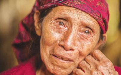 Maria, a survivor of armed conflict in Guatemala. (Rita Villanueva with Yahad-In Unum.)